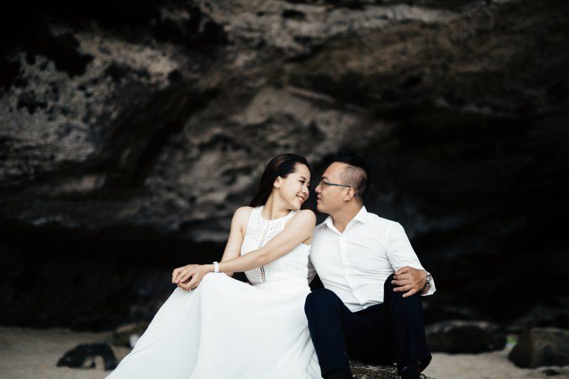 TAKEN BY FERNANDES Engagement Photographer in Vietnam